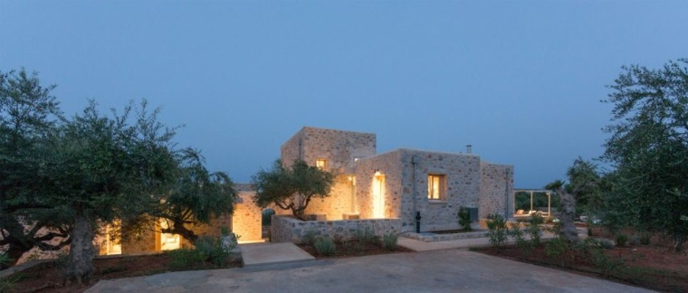 villas en mani residencia diseño