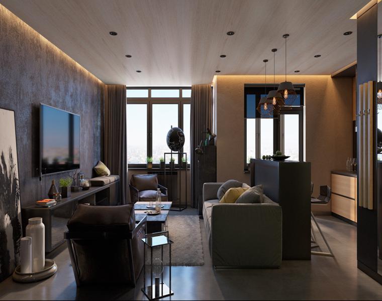 am design studio decoración salones