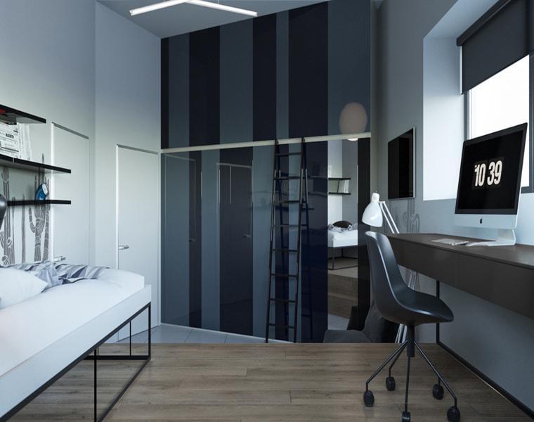 segunda habitación estilo juvenil