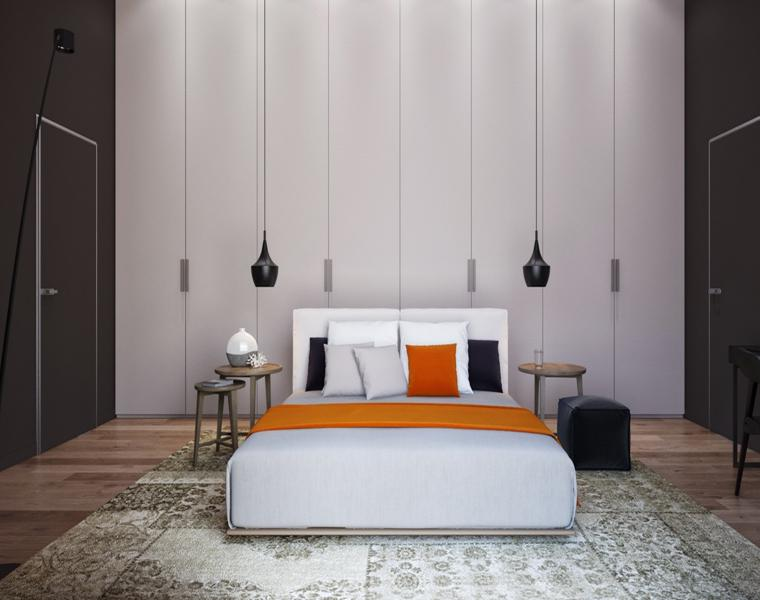 decoración dormitorio alfimbra turca
