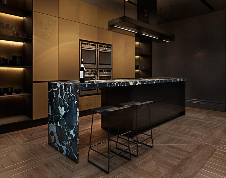 Salones oscuros – descubre los interiores en negro   panamá chatrealty