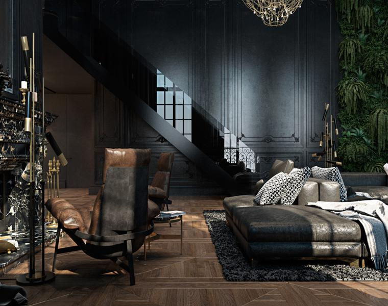 muebles de salon estilo mdoerno