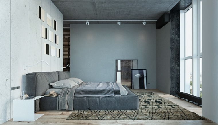 habitación moderna diseño Landusheva Nastia