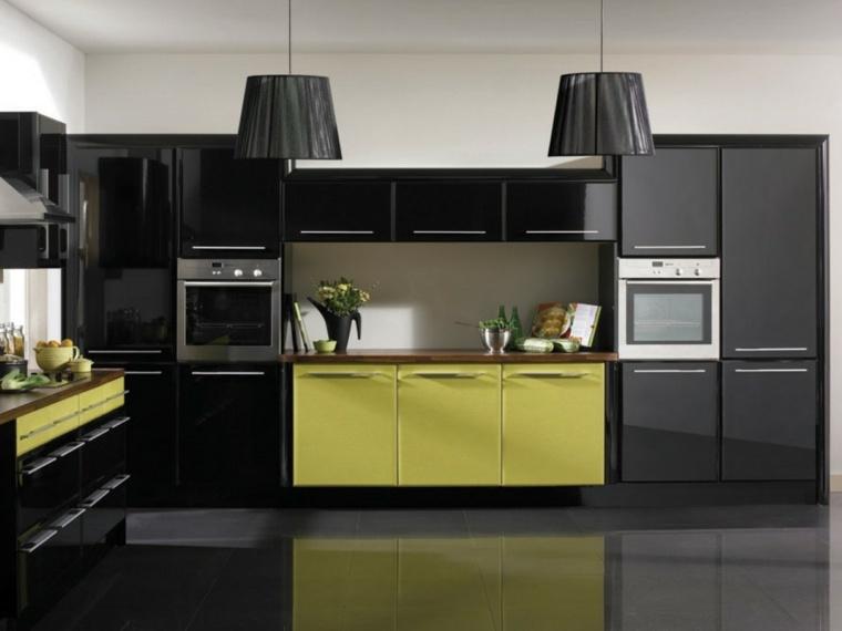 Accesorios para cocinas de color amarillo for Muebles de cocina amarillos