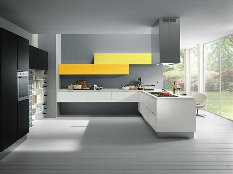 Accesorios para cocinas de color amarillo for Accesorios muebles de cocina
