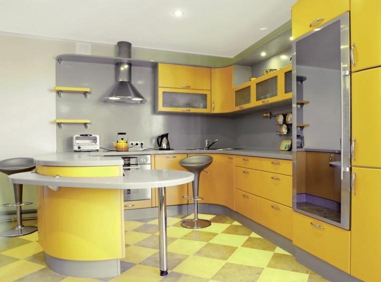 Accesorios para cocinas de color amarillo for Accesorios de cocina