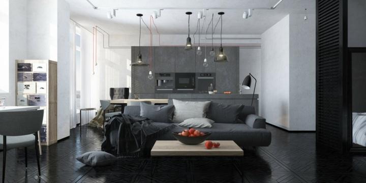 agradables suspendidas luces tonos cables