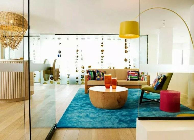 alfombras de colores casa
