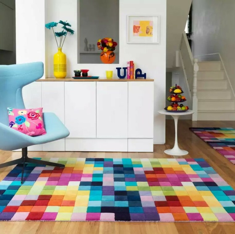 alfombras de colores originales