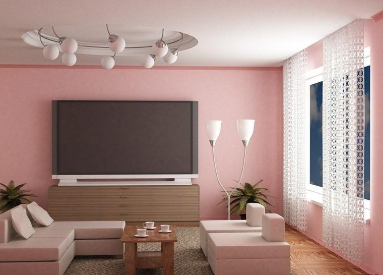 alfombras de colores sala de estar