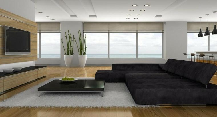 alfombras de colores salón