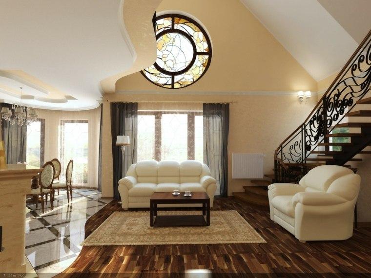 alfombras de salón modernas interior