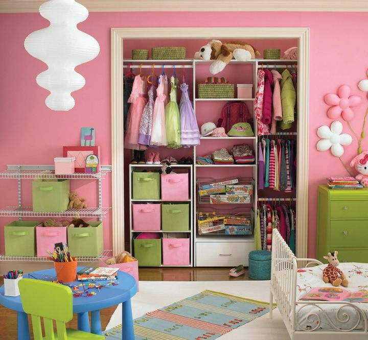 almacenamiento cabinetes cajones objetos colores