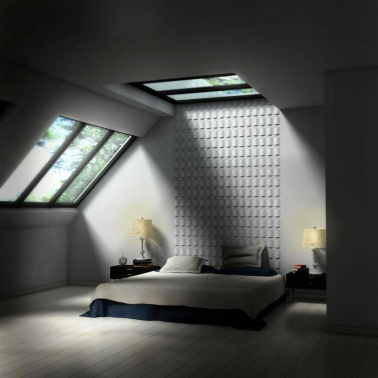 amueblar buhardilla dormitorio
