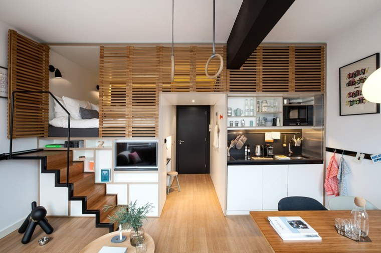 apartamento loft doble nivel