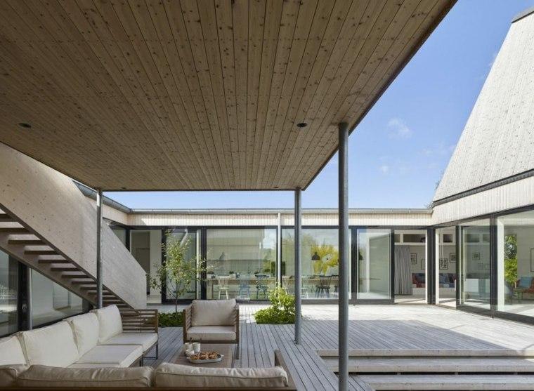arquitectura abierto espacio confort terrazas