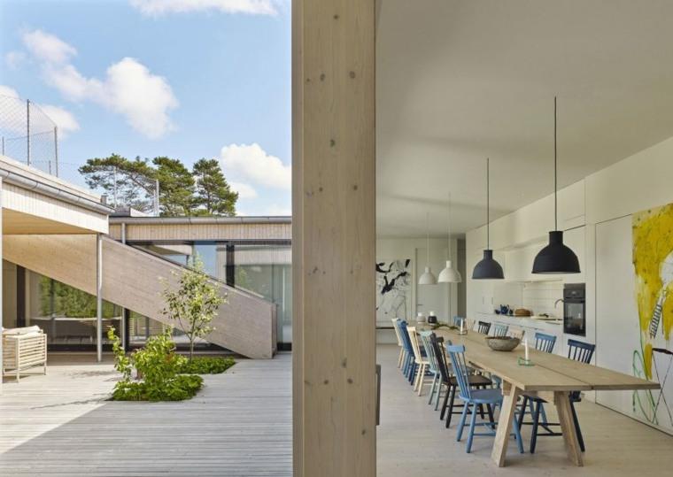 arquitectura jardine aire libre comedores imagenes