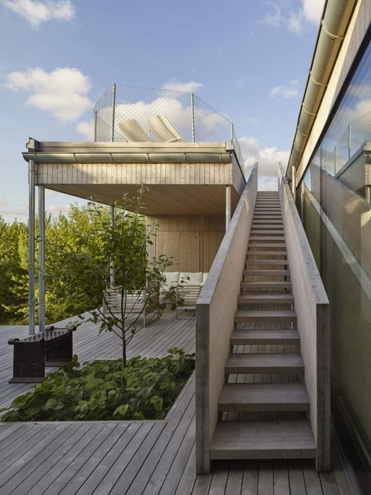 arquitectura jardines muebles banco sillones