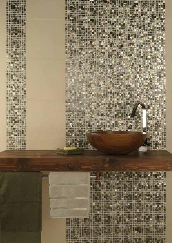 Mosaicos para ba os ideas inspiradoras - Azulejos mosaico bano ...