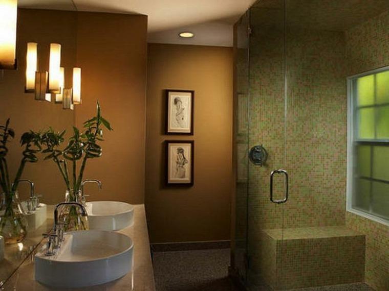azulejos mosaicos para baño