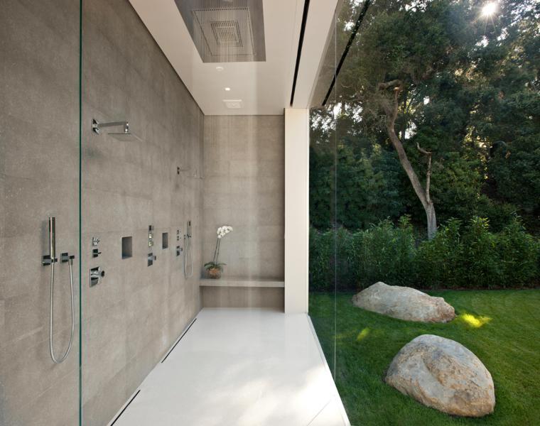 baño estilo minimalista zen