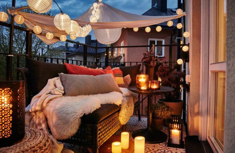 balcon terraza deco el otoño
