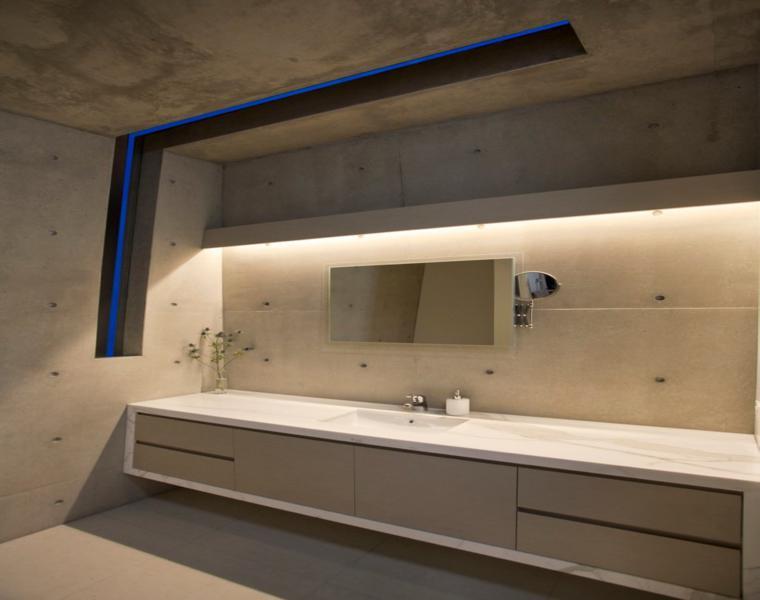 baño moderno estilo minimalista