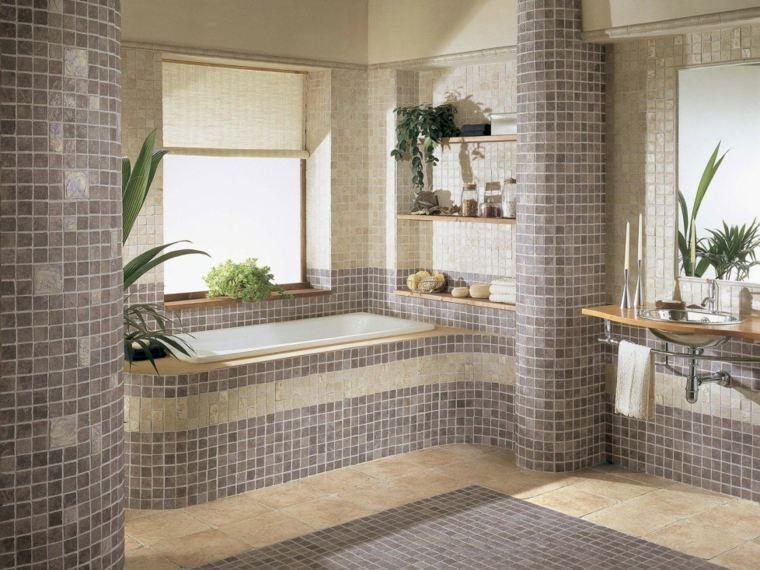 baños con mosaicos