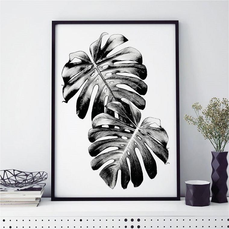 bello efecto minimalista plantas