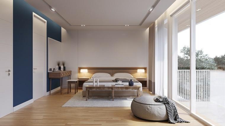 blanco azul muebles recuperados madera