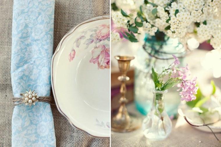 boda vintage decoración