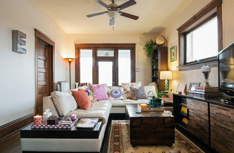 bonita decoración sala salon