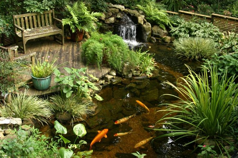 Estanques diy de dise o minimalista para peces koi for Peces para criar en estanques