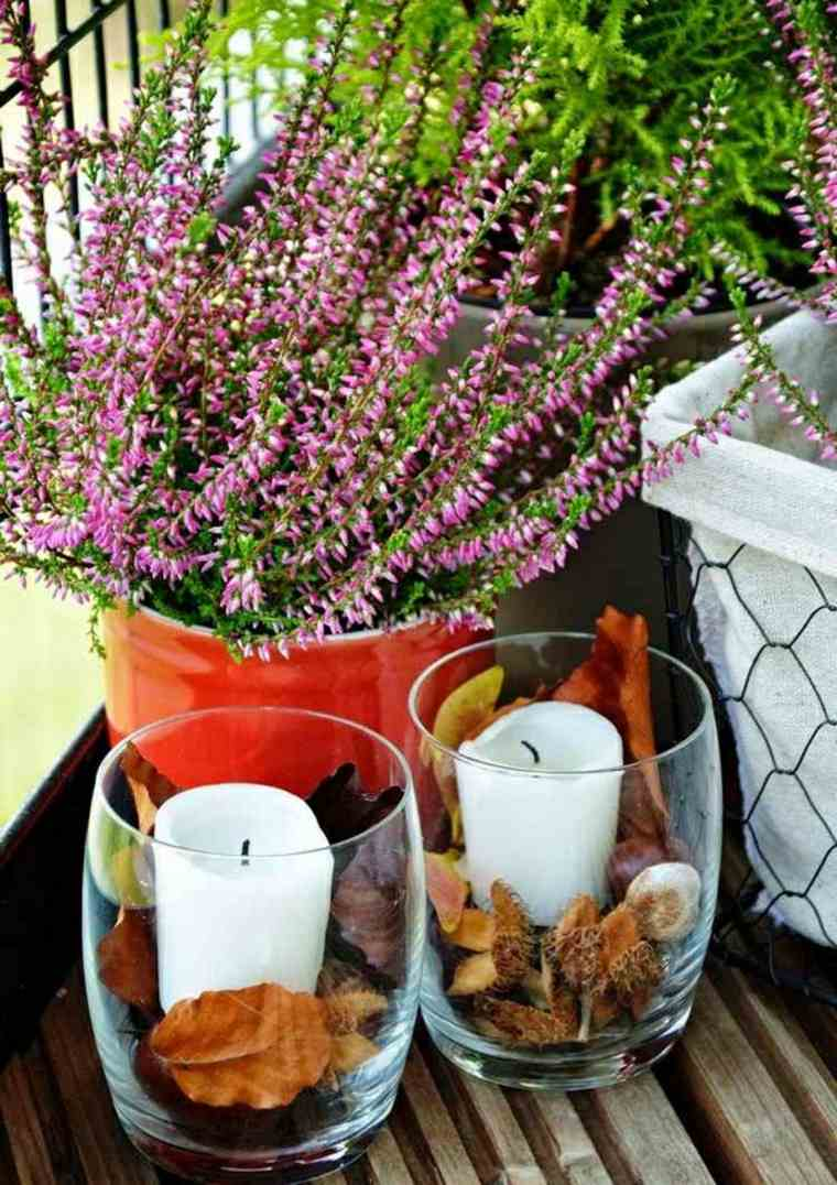 bonita decoración inspirada otono
