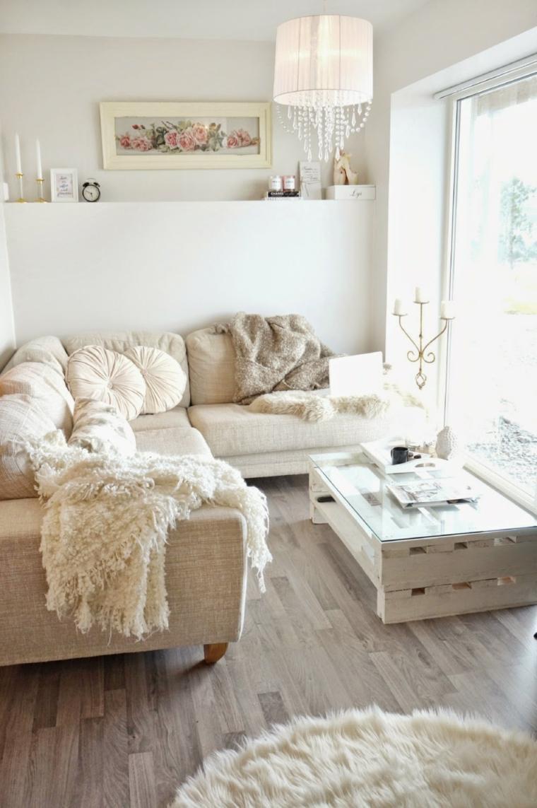 bonito conjunto muebles decoración beige