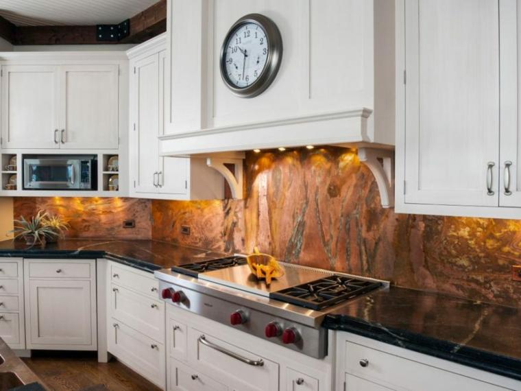 bonito diseño protector cocina