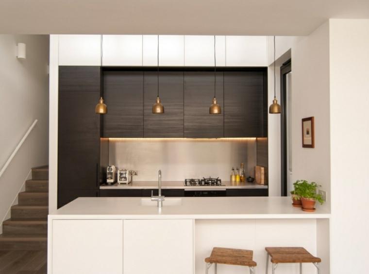 Tendencias y moda para la cocina 24 dise os originales - Diseno cocina pequena ...