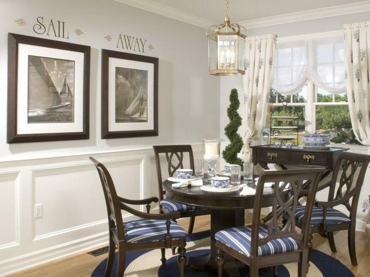 Decoracion salon comedor ideas para ahorrar espacio for Conjunto muebles comedor