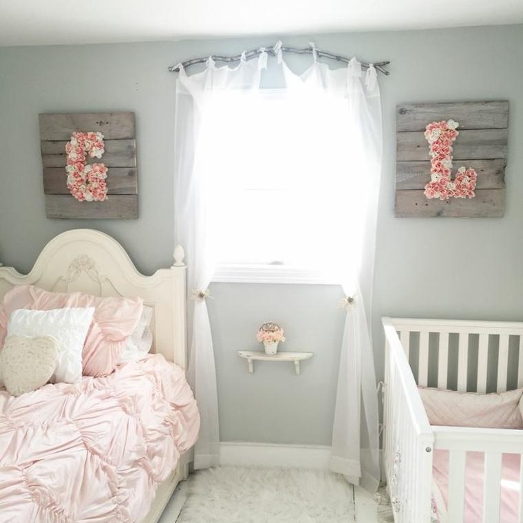 Decoracion habitacion infantil shabby chic - ideas alucinantes -