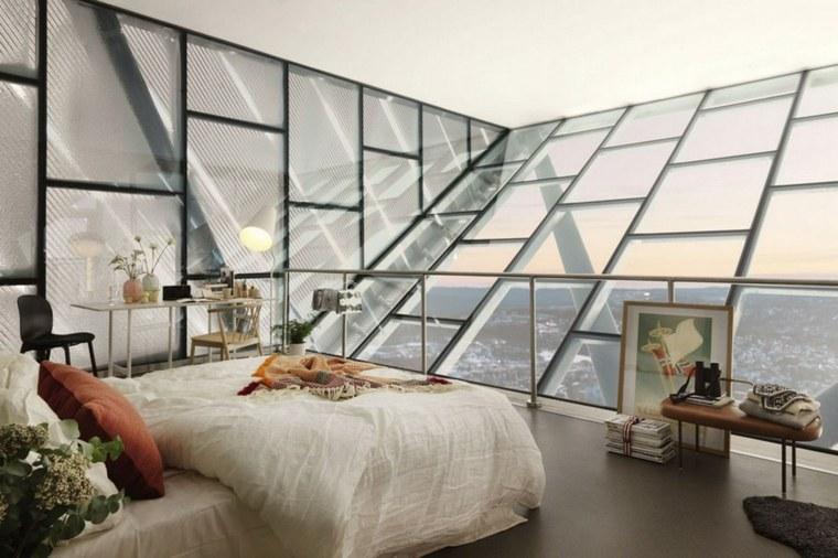 casas de cristal ático cristal