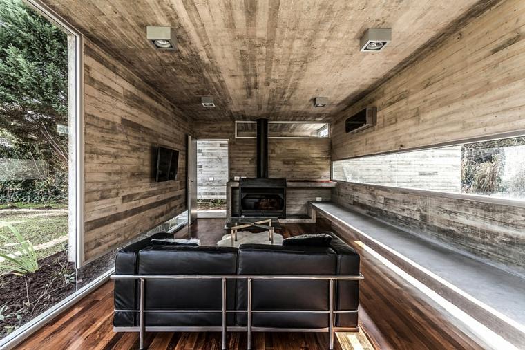 casas modernas disenos suelos sillones