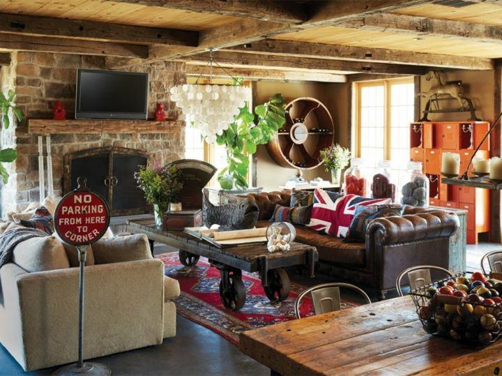 Casas rusticas decoraciones econ micas para llenarlas de vida - Decoracion casa rustica ...