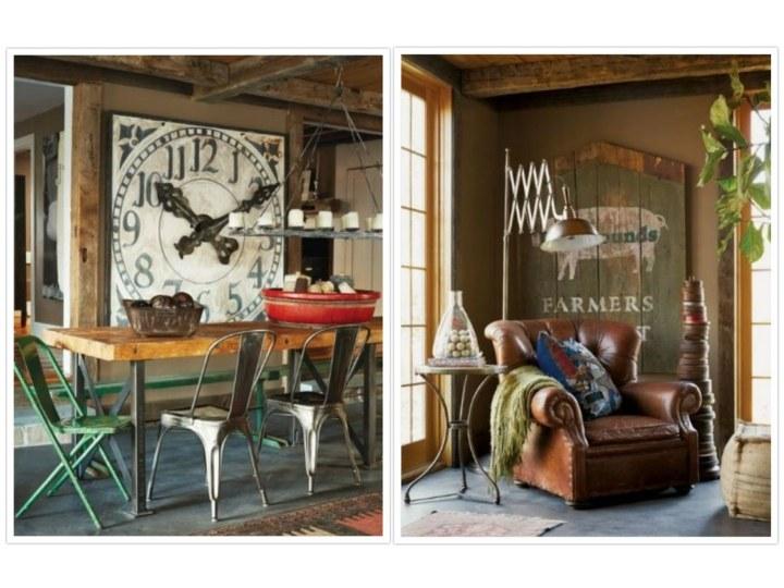 Casas rusticas decoraciones econ micas para llenarlas de vida for Paredes decoradas rusticas