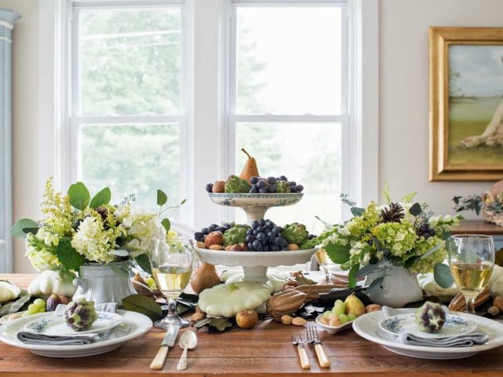 centros de mesa diy rustico estilos colores