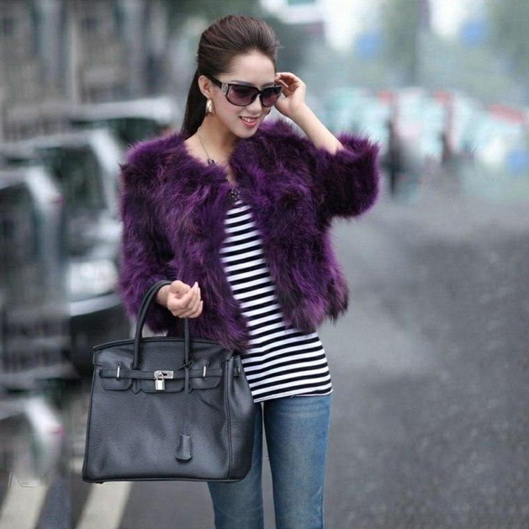 chaquetas elegantes para mujer otoño