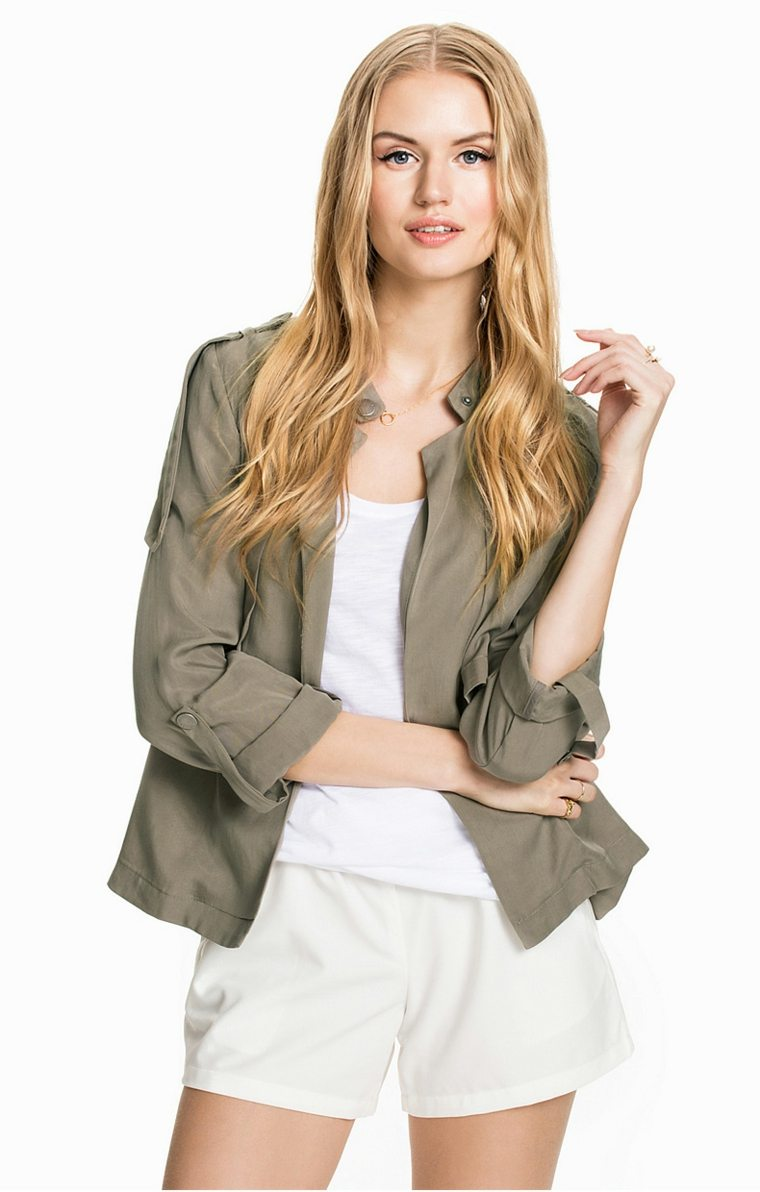 chaquetas elegantes para mujer