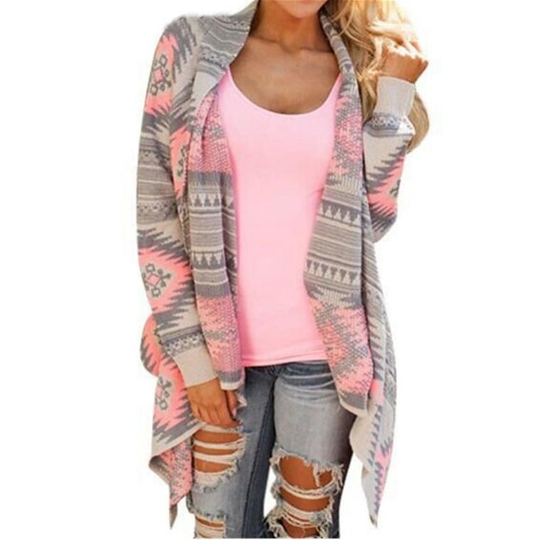 chaquetas para mujer tejidas colores