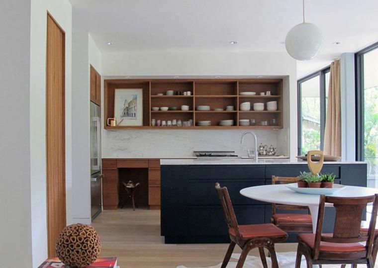 cocina moderna brillhart architecture