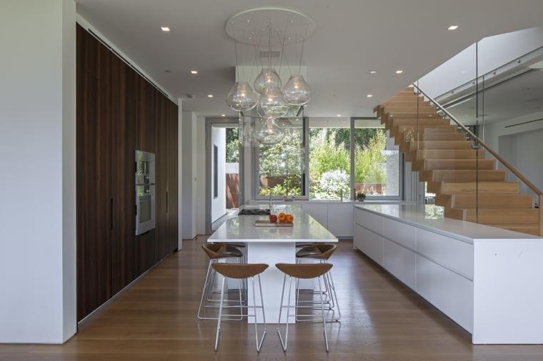 interior cocina comedor diseño moderno