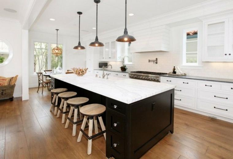 Cocinas minimalistas 24 dise os de interiores for Diseno de cocinas modernas con isla